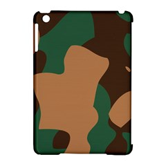 Military Camouflage Apple iPad Mini Hardshell Case (Compatible with Smart Cover)