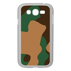 Military Camouflage Samsung Galaxy Grand DUOS I9082 Case (White)