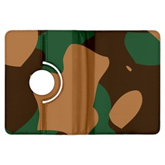 Military Camouflage Kindle Fire HDX Flip 360 Case