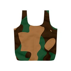 Military Camouflage Full Print Recycle Bags (S)