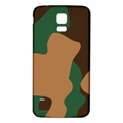 Military Camouflage Samsung Galaxy S5 Back Case (White)