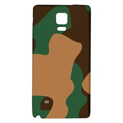 Military Camouflage Galaxy Note 4 Back Case