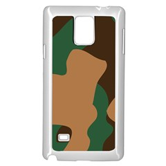 Military Camouflage Samsung Galaxy Note 4 Case (White)