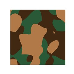 Military Camouflage Small Satin Scarf (Square)