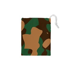 Military Camouflage Drawstring Pouches (XS)