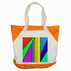 More Color Abstract Pattern Accent Tote Bag