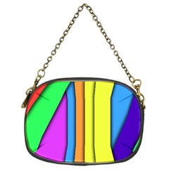 More Color Abstract Pattern Chain Purses (One Side)