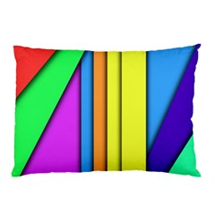 More Color Abstract Pattern Pillow Case