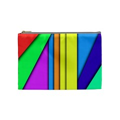 More Color Abstract Pattern Cosmetic Bag (Medium)