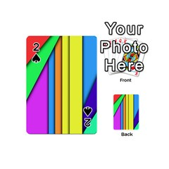 More Color Abstract Pattern Playing Cards 54 (Mini)