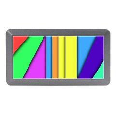 More Color Abstract Pattern Memory Card Reader (Mini)