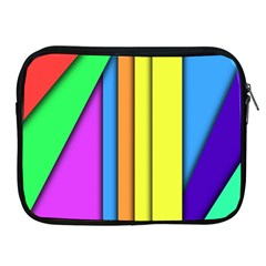 More Color Abstract Pattern Apple Ipad 2/3/4 Zipper Cases