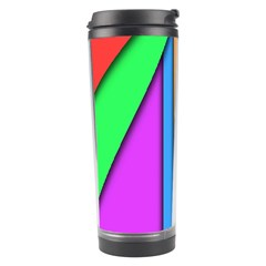 More Color Abstract Pattern Travel Tumbler