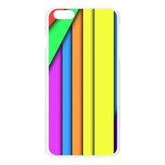 More Color Abstract Pattern Apple Seamless iPhone 6 Plus/6S Plus Case (Transparent)