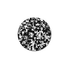 Noise Texture Graphics Generated Golf Ball Marker