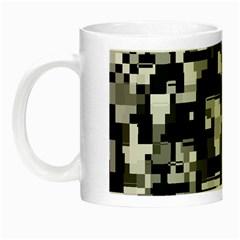 Noise Texture Graphics Generated Night Luminous Mugs