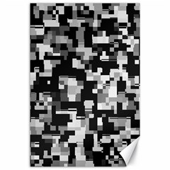 Noise Texture Graphics Generated Canvas 24  x 36
