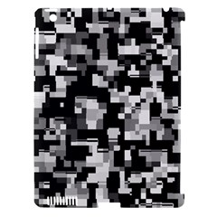 Noise Texture Graphics Generated Apple iPad 3/4 Hardshell Case (Compatible with Smart Cover)