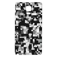Noise Texture Graphics Generated Galaxy Note 4 Back Case