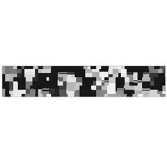 Noise Texture Graphics Generated Flano Scarf (Large)