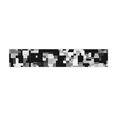 Noise Texture Graphics Generated Flano Scarf (Mini)