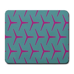 Pattern Background Structure Pink Large Mousepads