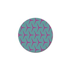 Pattern Background Structure Pink Golf Ball Marker (10 pack)