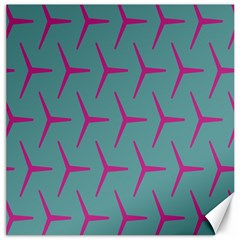 Pattern Background Structure Pink Canvas 12  x 12