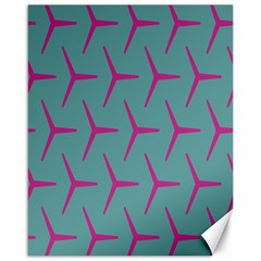 Pattern Background Structure Pink Canvas 16  x 20