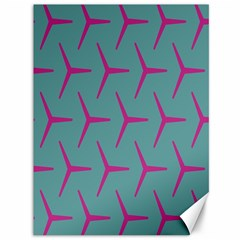 Pattern Background Structure Pink Canvas 36  x 48