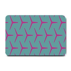 Pattern Background Structure Pink Small Doormat