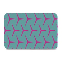 Pattern Background Structure Pink Plate Mats