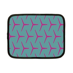Pattern Background Structure Pink Netbook Case (Small)