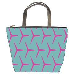 Pattern Background Structure Pink Bucket Bags