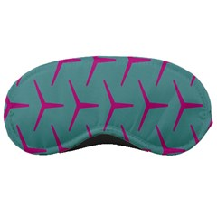 Pattern Background Structure Pink Sleeping Masks