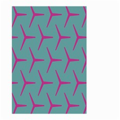 Pattern Background Structure Pink Small Garden Flag (Two Sides)