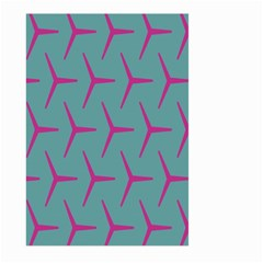 Pattern Background Structure Pink Large Garden Flag (Two Sides)