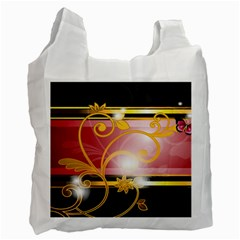 Pattern Vectors Illustration Recycle Bag (One Side)