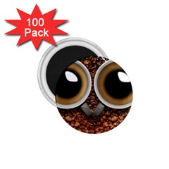 Owl Coffee Art 1.75  Magnets (100 pack)