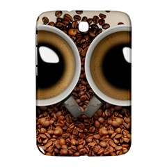 Owl Coffee Art Samsung Galaxy Note 8.0 N5100 Hardshell Case