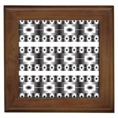 Pattern Background Texture Black Framed Tiles