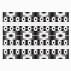 Pattern Background Texture Black Large Glasses Cloth (2-Side)