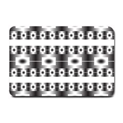 Pattern Background Texture Black Small Doormat
