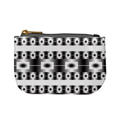 Pattern Background Texture Black Mini Coin Purses