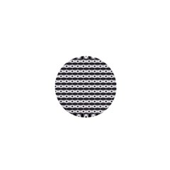 Pattern Background Texture Black 1  Mini Magnets