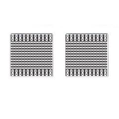 Pattern Background Texture Black Cufflinks (Square)