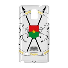 Coat Of Arms Of Burkina Faso Samsung Galaxy Note 4 Hardshell Case