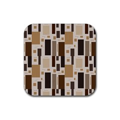 Pattern Wallpaper Patterns Abstract Rubber Coaster (Square)