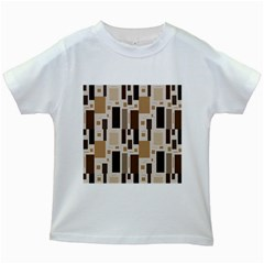 Pattern Wallpaper Patterns Abstract Kids White T-Shirts