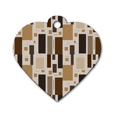 Pattern Wallpaper Patterns Abstract Dog Tag Heart (One Side)